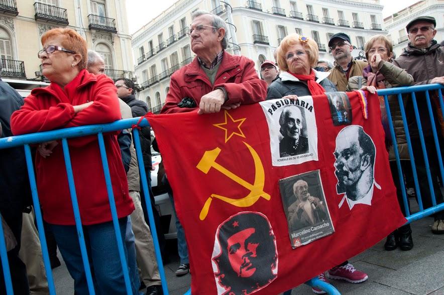 Manifestación por el primero de mayo