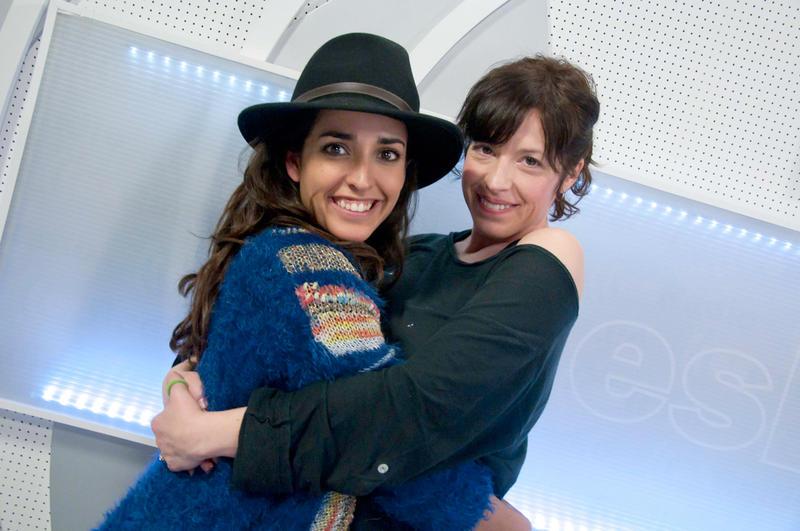 Inma Cuesta y Marta Ribero