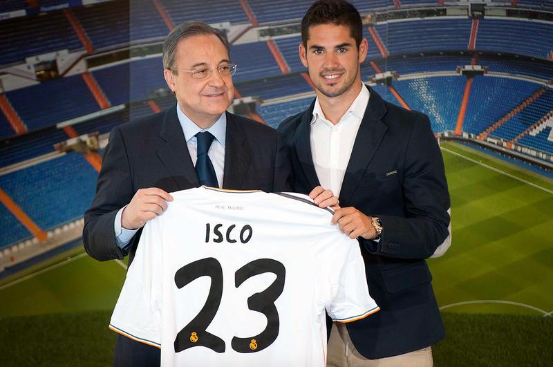Presentación de Isco como jugador del Real Madrid