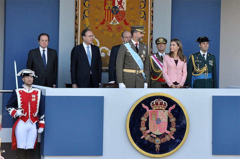 El Príncipe Felipe y Letizia Ortiz