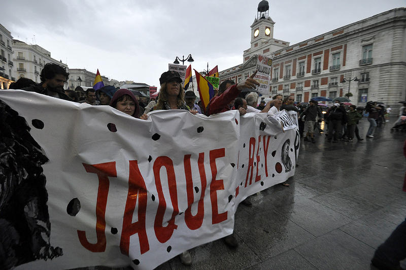 """Jaque al Rey"" en Madrid"