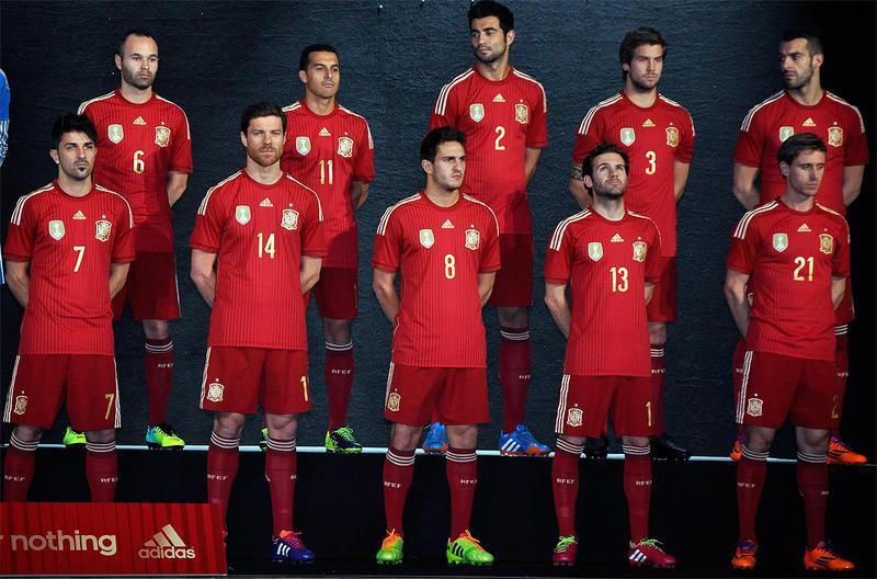 Nueva equipación de la selección española de fútbol