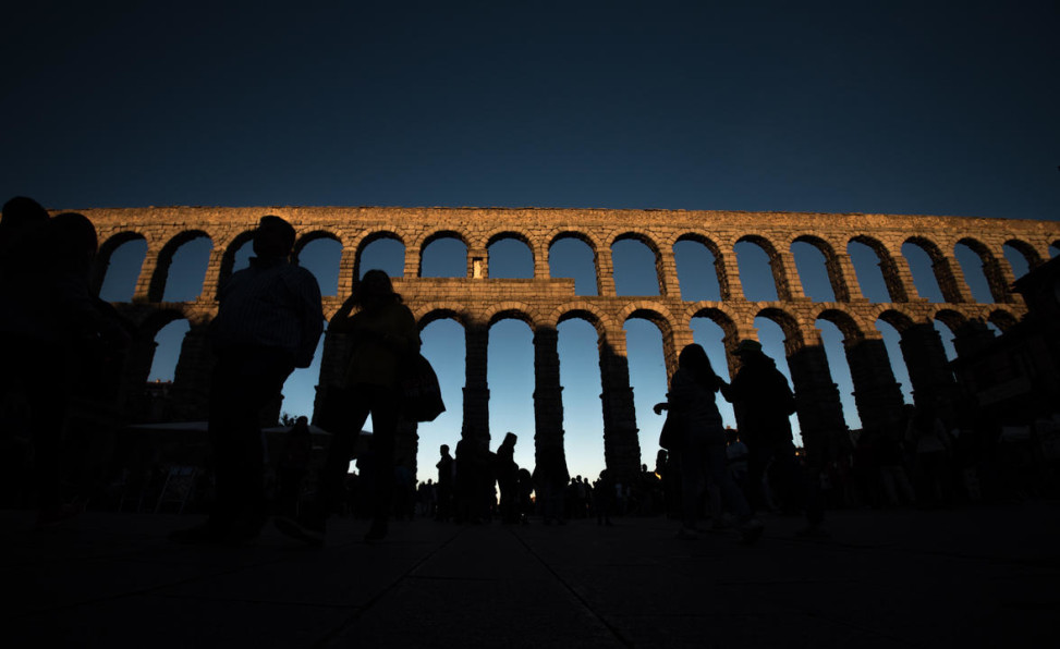 El acueducto de Segovia. ©David Alonso Rincón / LD.